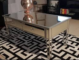 vintage mirrored dining table furniture