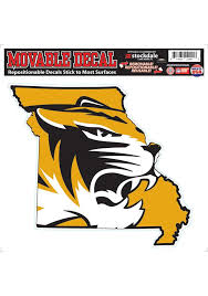 Missouri Tigers 8x8 State Of Auto Decal Missouri Tigers Mizzou Mizzou Tigers