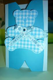 Tarjeta De Invitacion Para Baby Shower Handmade Baby Shower