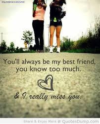 i miss you best friend quotes clequezaia pot com