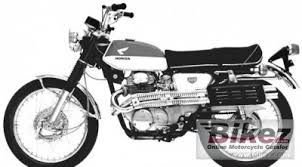 1968 honda cl 350 specifications and