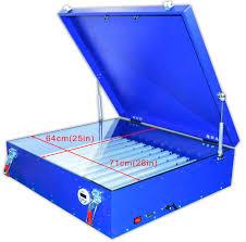 screen printing 25x28 uv light box diy