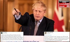 Boris Johnson is now playing Russian ...