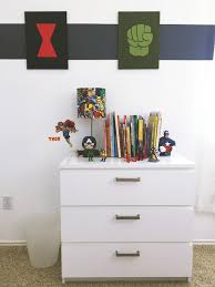 Avengers Themed Kid S Bedroom Decor With Diy Touches Fab Everyday