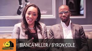 Apprentice Star Bianca Miller & Byron Cole | The Journey into Business -  YouTube