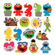 Cartoon Sesame Street Stickers Notebook Mac Stickerswholesale Stickers