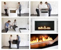 push on fireplaces