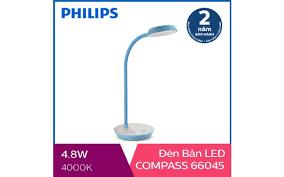 Đèn bàn, đèn học chống cận Philips LED Compass 66045 4.8W - Cơ Hội ...