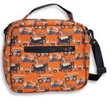 wildkin 18006 construction lunch bag