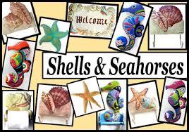 sea s handpainted metal shell