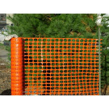 Unbranded 4 Ft X 100 Ft Orange Plastic Snow Fence 14973 48 The Home Depot