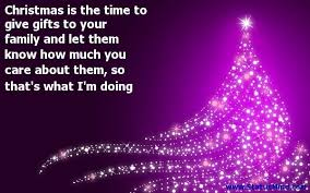 christmas is the time to give gifts to your family com