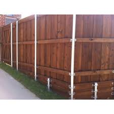 Unbranded 1 In X 6 In X 6 Ft 1 Wood Western Red Cedar Pre Stained Fence Picket Lsrbrcf1606 The Home Depot