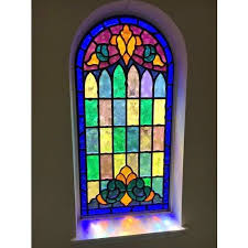 church windows stained glass at rs 1000