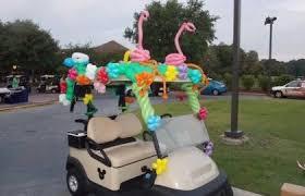 sleigh golf cart crazy custom golf carts