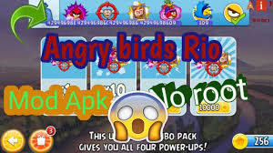 Angry Birds Rio MOD apk Unlimited Shopping (hacked) - YouTube