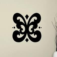 Fleur De Lis Living Holmstrom Butterfly Flourish Wall Decal Wayfair