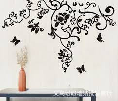 Jm7023 Wall Sticker Bedroom Room Vinyl Decal Art Diy Home Decor Removable The Real Sticker Manufacture Simple Pattern Butterfly Simple Home Decor Olivia Decor Decor For Your Home And Office