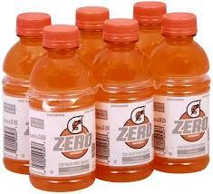 gatorade zero sugar orange thirst