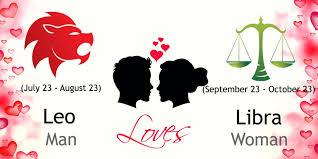 leo man and libra woman love