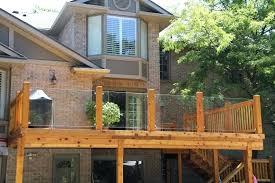 frameless glass railings for decks