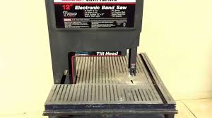 Craftsman 12in Electronic Band Saw Mnaaonline 41 Youtube