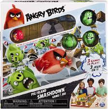 Amazon.com: Spin Master Games - Angry Birds - Pig Island Smashdown ...
