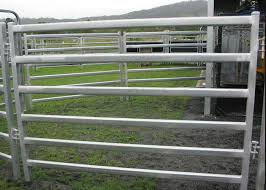 Livestock Fence Panel With Oval Tube 30x60mm Vertical Tube 40x1 5mm For New Zealand Market