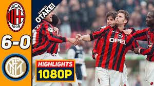 🔥 Милан - Интер 6-0 - Обзор Матча Чемпионата Италии 11/05/2001 HD 🔥 -  YouTube