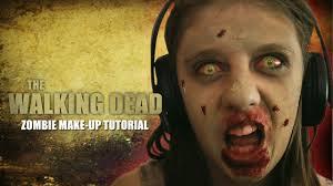 zombie makeup tutorial walking dead