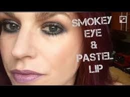 smokey eye pastel lip makeup video