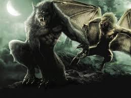 49 vire vs werewolf wallpaper on