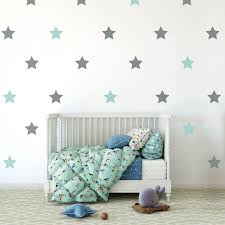 Star Wall Stickers Star Wall Decal Star Pattern Wall Etsy