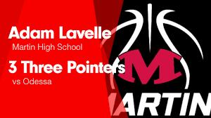 3 Three Pointers vs Odessa - Adam Lavelle highlights - Hudl