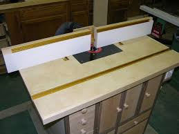 A New Router Table Deserves A New Fence T Slots And Miter Gage Tracks By Mike Robinson Lumberjocks Com Woodworking Community