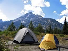 Camping - Grand Teton National Park (U.S. National Park Service)