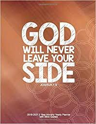 god will never leave your side joshua year