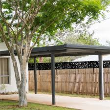Matrix 2400 X 600mm Charcoal Coolabah Fence Extension Bunnings Warehouse
