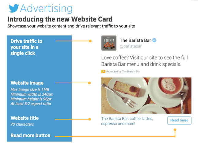 Example of Twitter Ads