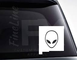 New Mexico Alien Vinyl Decal Sticker Car Decal Car Sticker Die Cut