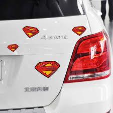 Car Styling Superman Logo Combination Creative Car Sticker Funny Free Decal For Bmw E46 E39 Totoya Volkswagen Skoda Polo Kia For Bmw Superman Logo Car Sticker Funny Aliexpress