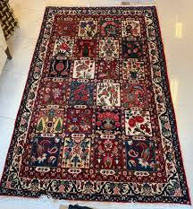 4 x 7 hand knotted persian rug the