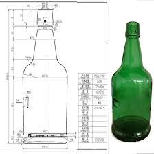antique green g wine glass