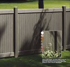 Natural Clay Chesterfield Certagrain Vinyl Fence