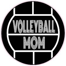 Volleyball Mom Sticker U S Custom Stickers