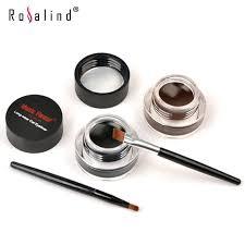 brown colors long wear gel eyeliner