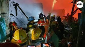 ไฟไหม้ชุมชนตากสิน 23 เสียหาย 100 ครอบครัว
