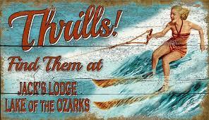 thrills custom vintage signs