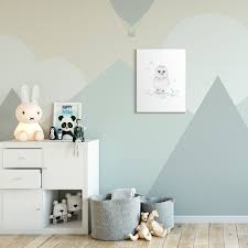 Shop The Kids Room By Stupell Cute Cartoon Baby Owl Bird Forest Animal Painting 10x15 Proudly Made In Usa Overstock 28719155