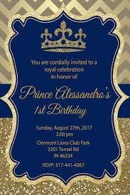 Prince 1 Birthday Con Imagenes Baby Shower Tematico De